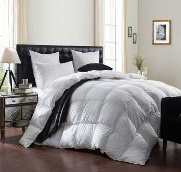 LUXURIOUS Bedding 1200 Thread Count GOOSE DOWN Comforter Duvet Insert
