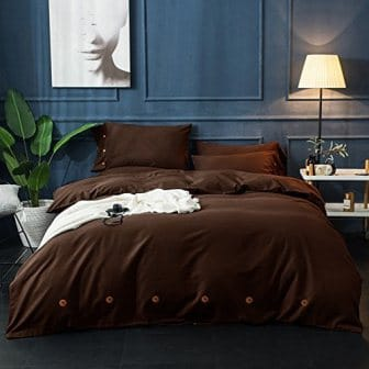 NANKO Duvet Cover Set Queen , 3 Piece, Best Modern Style Men Women