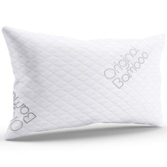Original Bamboo Pillow Diamond Memory Foam