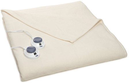 SoftHeat Luxury Low-Voltage, Micro-Fleece Electric Heated Queen Size Blanket
