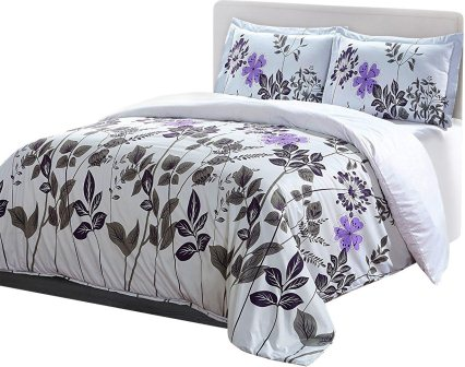 Utopia Bedding Printed Duvet Cover Set Hotel Quality