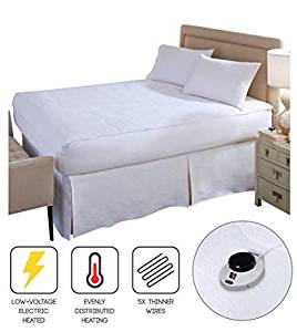 Electric Heated Warming Mattress Pad from Perfect Fit