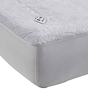 Serta/Sherpa Plush Electric Heated Mattress Pad from Perfect Fit