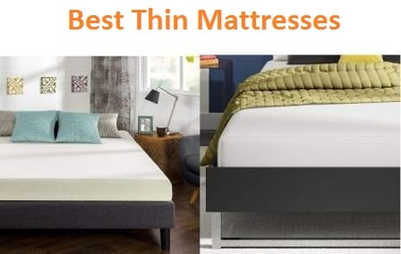 Top 15 Best Thin Mattresses in 2018