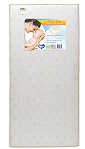 Twinkle Stars Fiber Core Crib and Toddler Mattress from Delta Children