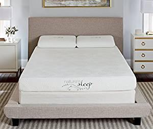 800LP333 Gel Memory Foam Mattress from Nature's Sleep – Twin Size