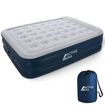 Active Era Premium Queen Size Air Mattress - Elevated Inflatable Air Bed