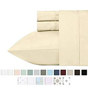 California Design Den 400 Thread Count 100% Cotton Sheet