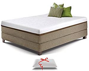 Live & Sleep 12-Inch Resort Ultra Gel Memory Foam Mattress