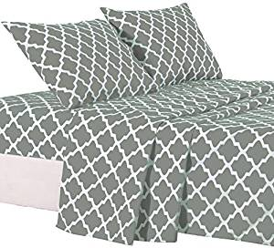 Lux Decor Collection Bed Sheet Set – 4 Piece