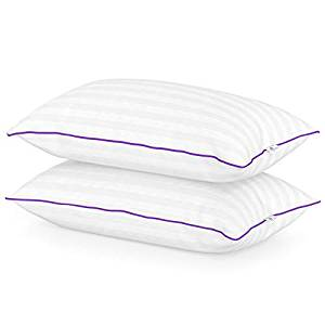Queen Anne Heavenly Down Hypoallergenic Exclusive Hand-Filled Pillow Set