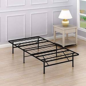 Simple Houseware 14-Inch Twin Size Mattress Foundation Platform Bed Frame.