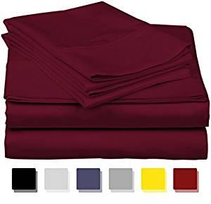 Thread Spread True Luxury 100 Egyptian Cotton 1000 Count 4 Piece Sheet Set