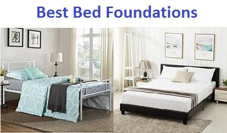 Top 15 Best Bed Foundations in 2018