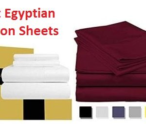 Top 15 Best Egyptian Cotton Sheets in 2018 -Ultimate Guide