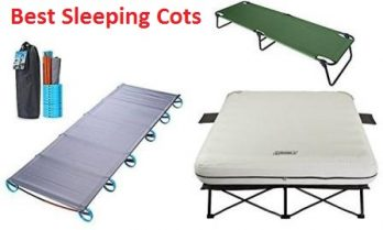 Top 15 Best Sleeping Cots in 2018