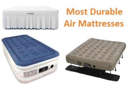 Top 15 Most Durable Air Mattresses in 2018