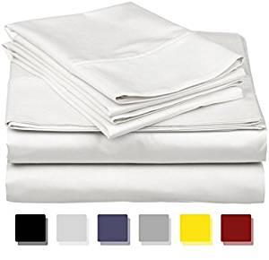 True Luxury 100% Egyptian Cotton – Genuine 1000 Thread Count 4 Piece Sheet Set