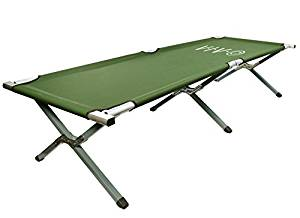 VIVO Camping Cot, Portable Fold up Bed, Military Style Cot