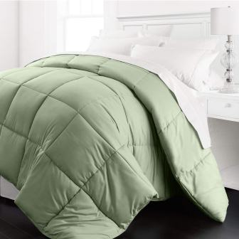 Beckham Hotel Collection 1200 Series - Lightweight - Luxury Goose Down Alternative Comforter