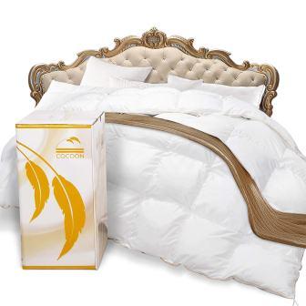COCOON Premium Luxurious Goose Down Comforter