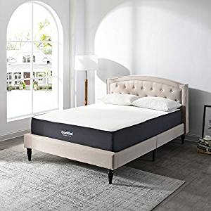 Classic Brands10.5-Inch Cool Gel Ventilated Gel Memory Foam Mattress in a Box