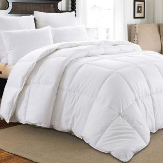 Downluxe All Seasons White Down Comforter Queen Size Down Duvet Inserts