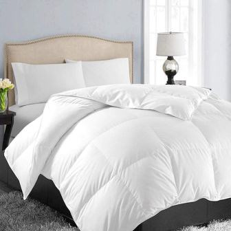 EASELAND All Season QueenFull Soft Quilted Down Alternative Comforter
