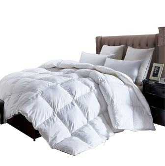 Egyptian Cotton Factory Outlet Store Luxurious King Size Lightweight Goose Down Comforter