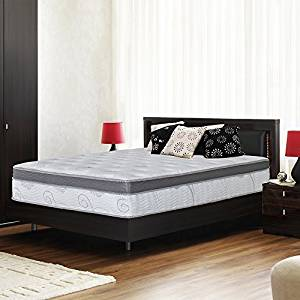 Olee Sleep 13-Inch Galaxy Hybrid Memory Foam and Pocket Spring Mattress in a Box