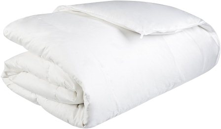 Pinzon Lightweight Shed-Resistant White Down Comforter