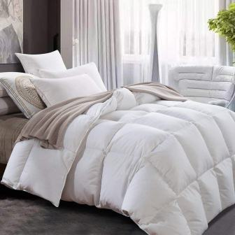 ROYALAY Luxurious All-Seasons White Goose Down Comforter