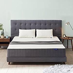 Sweetnight 10-Inch Gel Memory Foam King Mattress in a Box