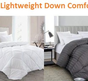 Top 15 Most Lightweight Down Comforters in 2018