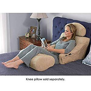The Superior Comfort Bed Lounger (for Users 5'3″ and Taller, Knee Pillow not Included)