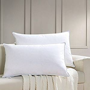 AIKOFUL White Goose Down Bed Pillow