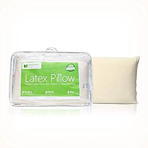 All Natural Latex Pillow with Organic Cotton Outer Covering