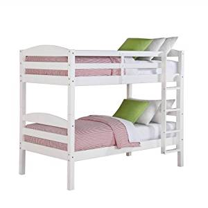 Better Homes and Gardens Leighton Twin Over Twin Bunk Bed