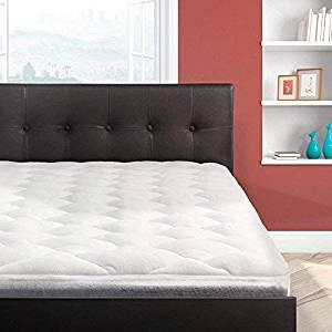 Cardinal & Crest Bamboo Overfilled Pillow Top Mattress Pad Superb Temperature Regulation