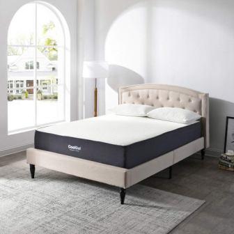 Classic Brands Cool Gel 410107-1150 Mattress Queen White