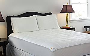 Design Weave Outlast All Season Temperature Regulating Hypoallergenic Pillow top Mattress Pad