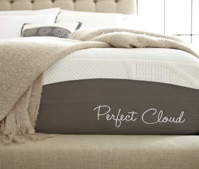 Perfect Cloud Elegance Gel-Pro 12-Inch Memory Foam Mattress