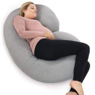 PharMeDoc C-Shaped Pregnancy Pillow