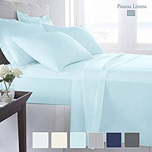 Pizuna Linens 1000 Thread Satin Sheets