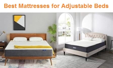 Top 15 Best Mattresses for Adjustable Beds in 2019