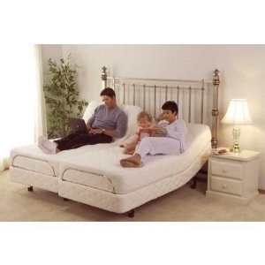 Twin XL 21 Inch Deluxe Memory Foam Mattress for Adjustable Bed Base