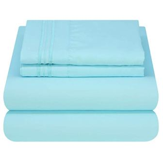 1800 Thread Count Luxury Bed Sheet Set by Mezzati