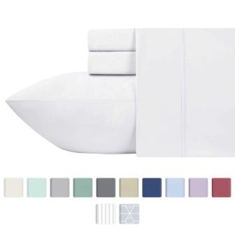 600 Thread Count Best Bed Sheets 100% Cotton Sheets Set
