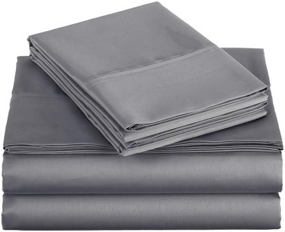 AmazonBasics 400 Thread Count Sheet Set, 100% Cotton