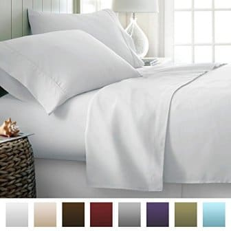 Beckham Hotel Collection 1500 Series Luxury Soft Brushed Microfiber Bed SheetS